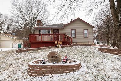 Van Buren, Van Buren Twp Single Family Home For Sale: 12800 Martinsville Road