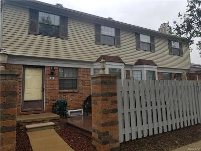 Canton, Canton Twp Condo/Townhouse For Sale: 2101 Vine Way #92 #92