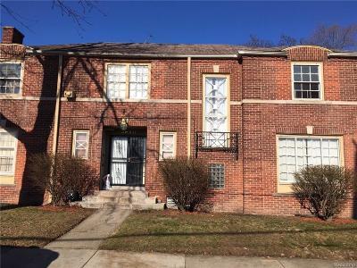 Detroit Single Family Home For Sale: 3950 Margareta Street