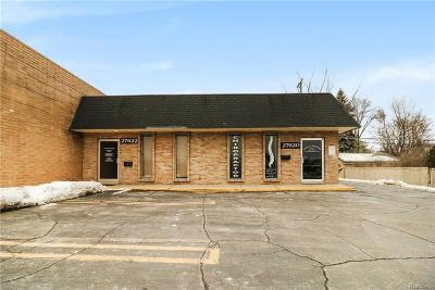 Livonia Commercial For Sale: 27620 5 Mile Road