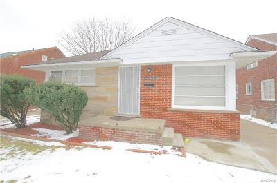 Detroit MI Single Family Home Pending: $30,000