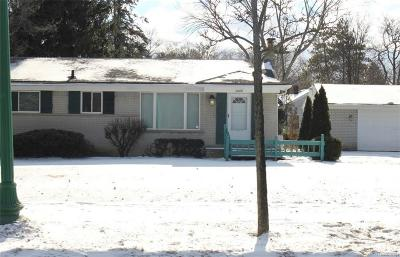 Southfield Single Family Home For Sale: 22491 Civic Center Drive