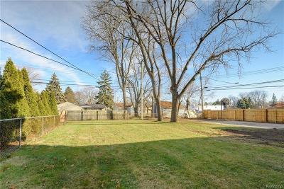 Livonia Residential Lots & Land For Sale: 11620 Cardwell Street