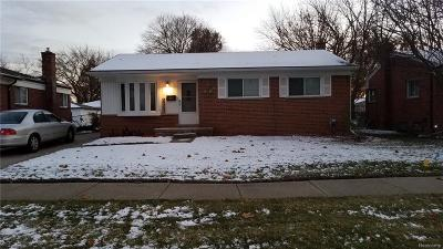 Warren Single Family Home For Sale: 13302 Common Road