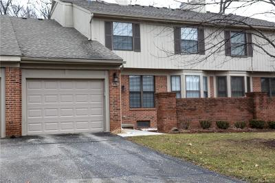 West Bloomfield, West Bloomfield Twp Condo/Townhouse For Sale: 7196 Green Farm Road