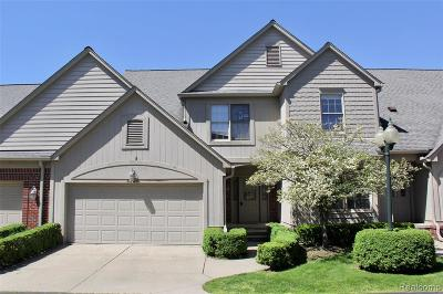Royal Oak, Royal Oak Twp Condo/Townhouse For Sale: 3329 Nell Rose Court