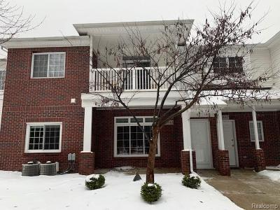 Sterling Heights Condo/Townhouse For Sale: 5343 Twin Oaks Drive