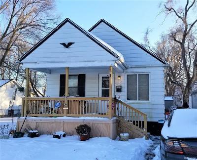 Hazel Park Single Family Home For Sale: 119 W George Avenue