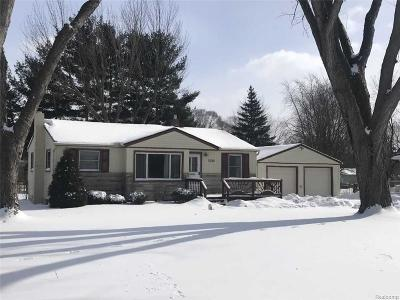 Lake Orion, Orion Twp, Lake Orion Vlg, Clarkston, Independence Twp, Rochester Hills, Rochester, Metamora Twp, Oxford Twp, Oxford Vlg Single Family Home For Sale: 5342 Heath Avenue