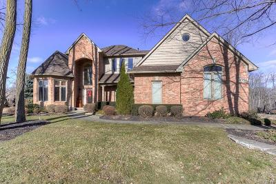 Commerce, Commerce Township, Commerce Twp Single Family Home For Sale: 4350 Forest Hill Drive