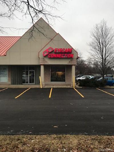 Oakland County Commercial Lease For Lease: 6756 Highland Road