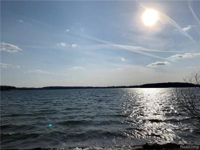Orchard Lake Residential Lots & Land For Sale: 3789 Indian Trail