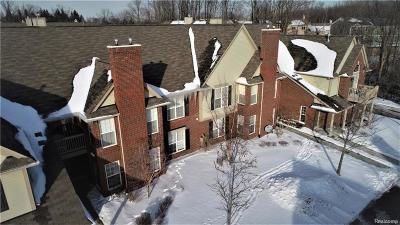 Novi Condo/Townhouse For Sale: 28472 Carlton Way Drive