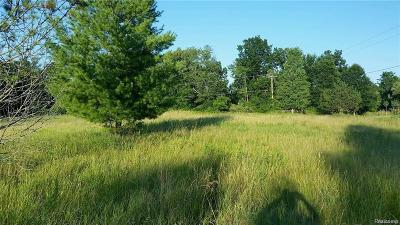 Brandon Twp Residential Lots & Land For Sale: 1780 Wooley