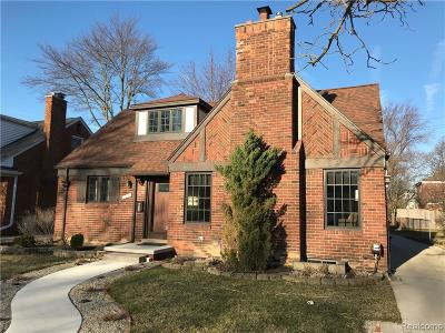 Huntington Woods Single Family Home For Sale: 26697 Humber Street