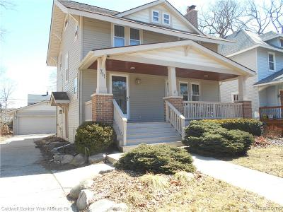 ROYAL OAK Single Family Home For Sale: 711 S Laurel Street