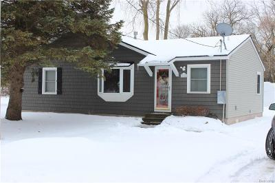 Novi Single Family Home For Sale: 214 Monticello Street
