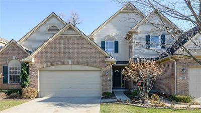 White Lake Condo/Townhouse For Sale: 1383 Waverly Drive