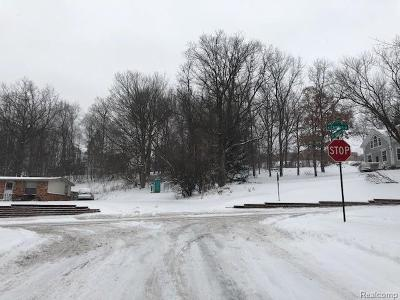 Northville Residential Lots & Land For Sale: 711 N Center Street