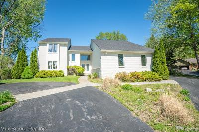 Clarkston, Independence Twp, Springfield Twp, Village Of Clarkston  Single Family Home For Sale: 7040 Northwind Court