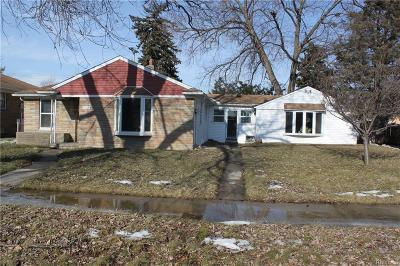 Southgate Single Family Home For Sale: 12774 Rosedale Street