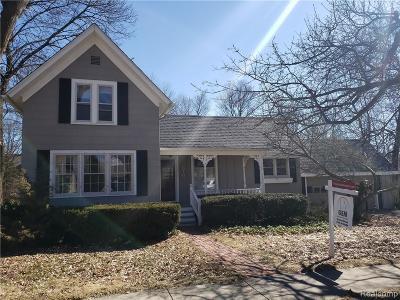 Northville Single Family Home For Sale: 516 Novi Street