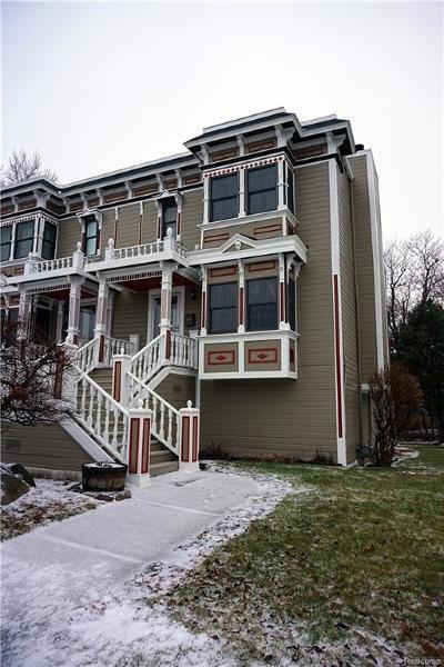 Royal Oak Condo/Townhouse For Sale: 423 N Washington Avenue