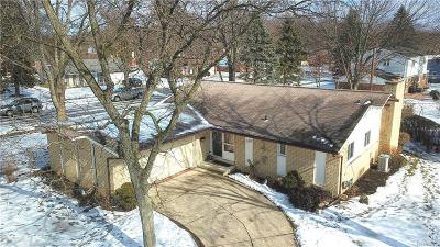 Livonia Single Family Home For Sale: 17990 Parklane Street