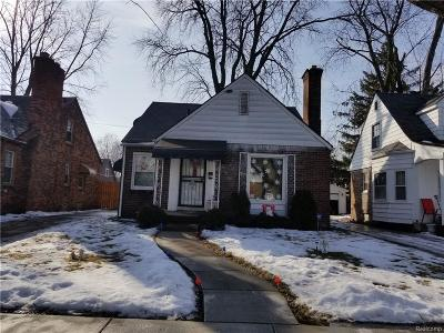 Single Family Home For Sale: 4399 Bishop Street