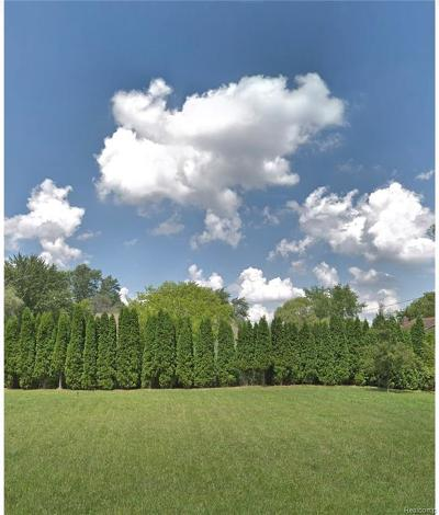West Bloomfield Twp Residential Lots & Land For Sale: 4442 Borland Street