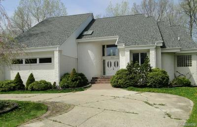 West Bloomfield Twp Single Family Home For Sale: 6940 Drake Road