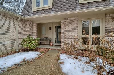 Bloomfield Twp Condo/Townhouse For Sale: 1157 Timberview Trail