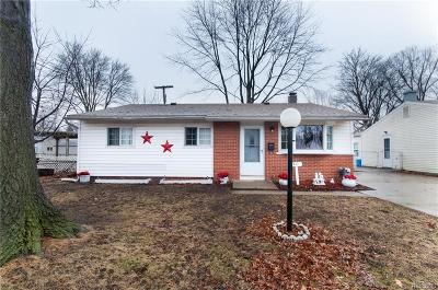 Plymouth Twp, Canton Twp, Livonia, Garden City, Westland Single Family Home For Sale: 1401 S Walton Street