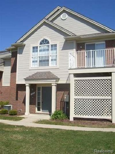 Rochester Condo/Townhouse For Sale: 1883 Flagstone Circle