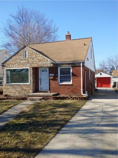 Dearborn Single Family Home For Sale: 3530 Polk Street