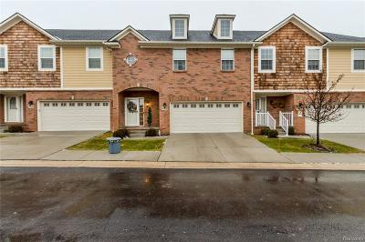 Plymouth Condo/Townhouse For Sale: 14110 Terrace Court