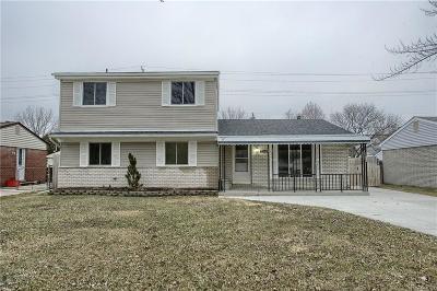 Van Buren, Van Buren Twp Single Family Home For Sale: 41800 McBride Avenue