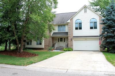 West Bloomfield Twp Single Family Home For Sale: 5345 Pond Bluff