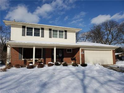 Livonia MI Single Family Home Pending: $325,000
