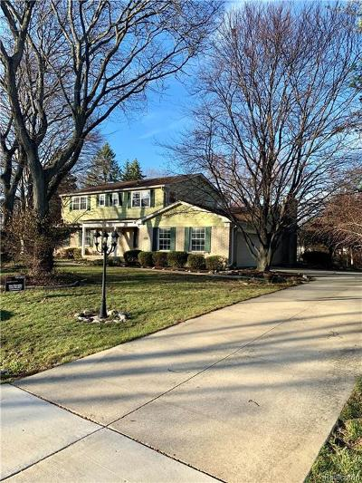 Farmington, Farmington Hills Single Family Home For Sale: 31120 Berryhill Street