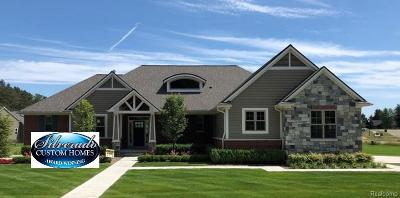 Oxford Single Family Home For Sale: 1180 Glass Lake Circle