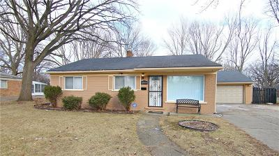 Southfield Single Family Home For Sale: 28064 Pierce Street