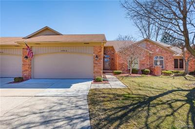 Clinton Twp Condo/Townhouse For Sale: 40934 E Rosewood Drive