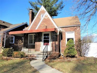 Lincoln Park Single Family Home For Sale: 756 Kings Highway