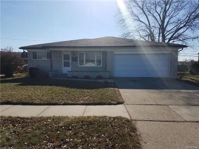 Warren Single Family Home For Sale: 13624 Beth Drive