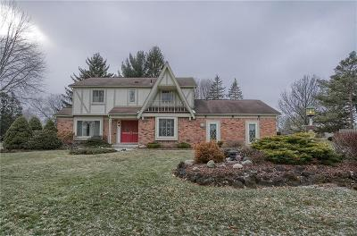 Northville Single Family Home For Sale: 16443 Sutters Lane Court