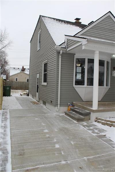 Southgate Single Family Home For Sale: 13541 Kerr Street