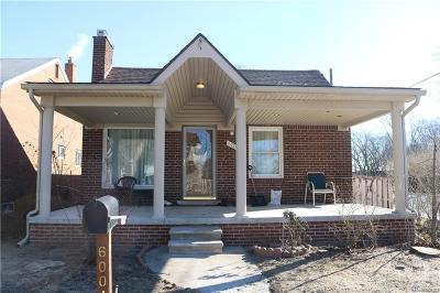 Dearborn Single Family Home For Sale: 6004 Coleman Street