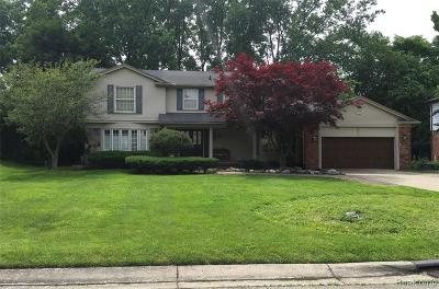 West Bloomfield Twp Single Family Home For Sale: 5324 Old Pond Way