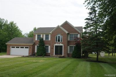 Van Buren, Van Buren Twp Single Family Home For Sale: 15803 Bak Road